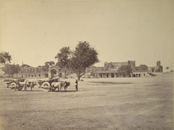 Ruins of the Residency and Bailey Guard, Lucknow.
